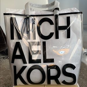Michael Kors Clear Tote Bag